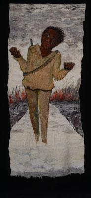 Mieke Werners, Schreeuw, wol en textiel