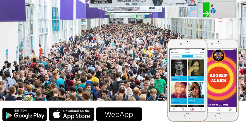Official gamescom App / INSIDE Guidance