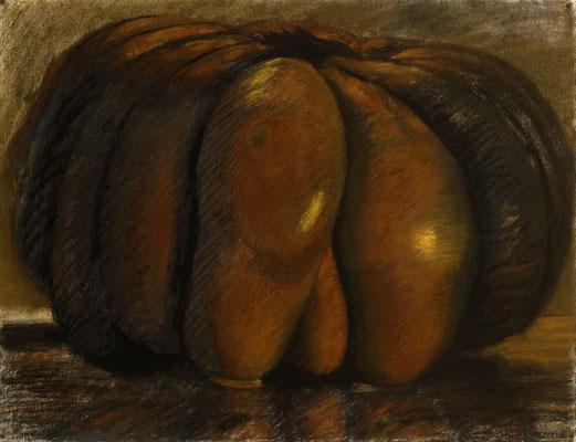 1995. 46 x 60 cm. Pastel sur papier.