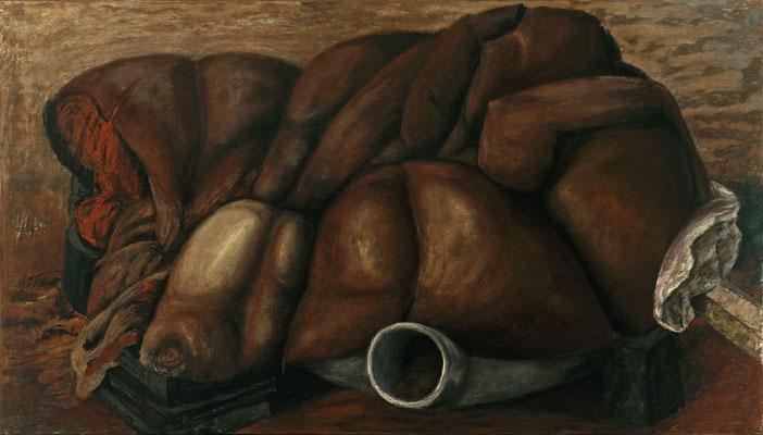 2006. 112 x 190 cm. Pastel sur toile marouflé sur toile.