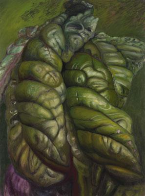 2011. 195 x 145 cm. Peinture à l'huile sur toile.