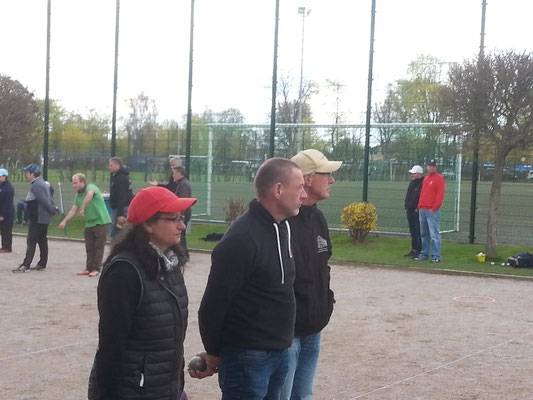 Elina Schomburg, Wolfgang Koch und Frank Schomburg