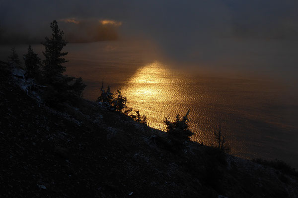 Sunrise am Merriam Point