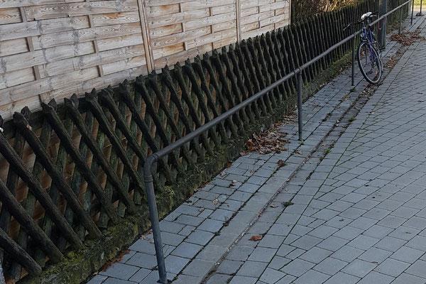 © Doppelstegmattenzaun neu setzen durch M. Böhm Allersberg Bild 1