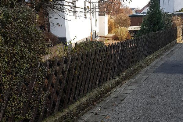 © Doppelstegmattenzaun neu setzen durch M. Böhm Allersberg Bild 3