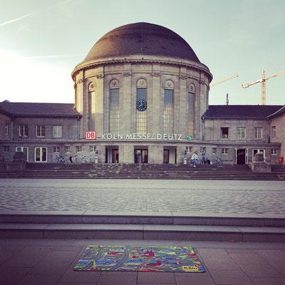 Köln Messe-Deutz Bahnhof - Spielteppich Köln - deinspielteppich.de