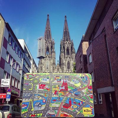 Kölner Dom - Spielteppich Köln - deinspielteppich.de