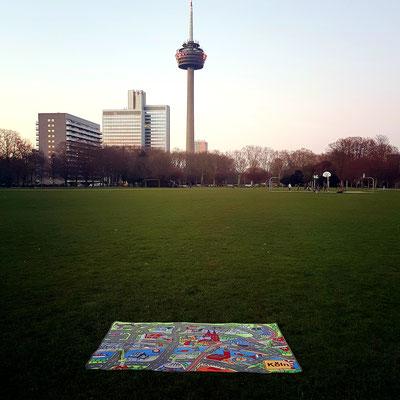 Fernsehturm Colonius - Spielteppich Köln - deinspielteppich.de