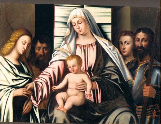 attr. Sebastiano Del Piombo, dopo il restauro