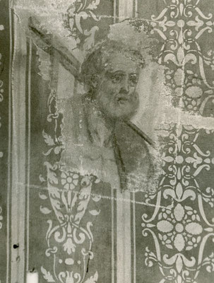 Tizio di Collio (Bs), Tassello Scoperta Affreschi Sec. XVI e XVII