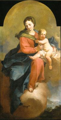 Sec. XVIII, Madonna con Bambino, Brescia Pinacoteca Tosio Martinengo