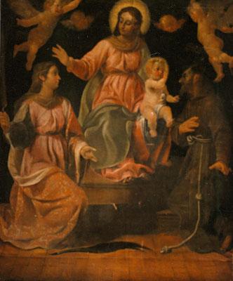 Vello (Bs), Ottavio Amigoni, prima del restauro