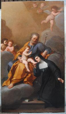 Salò (Bs), Donini da Correggio, 1725, San Giuseppe con Bambino