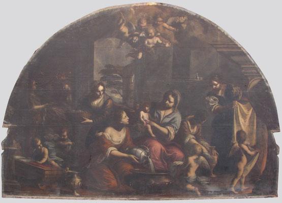 Francesco Paglia, Brescia San Giovanni Evangelista, Natività di Maria