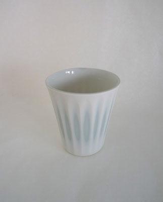 Porcelaine colorée / gravée / Adeline