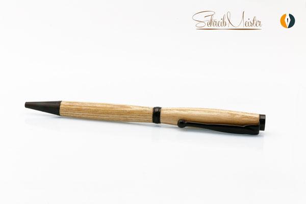 Gedrechselter Kugelschreiber aus Ahorn