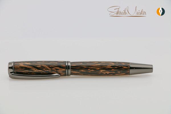 Handgemachter Füller aus Black Palmira / Schwarzes Palmholz