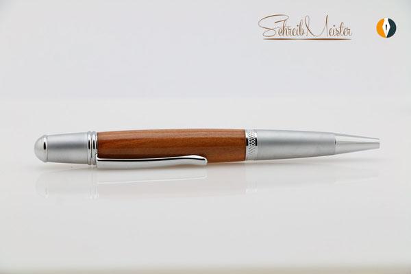 Kugelschreiber aus Birne /Holz vom Birnbaum handgemacht