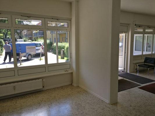 Fensteransicht des Gruppenraums