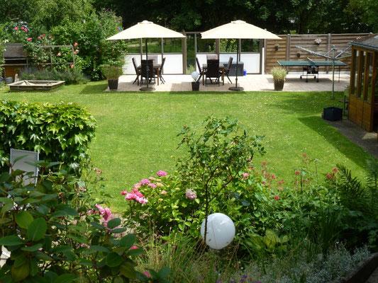 Terrassen mit Sonnenschutz