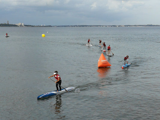 Stand-up Paddling in Scharbeutz