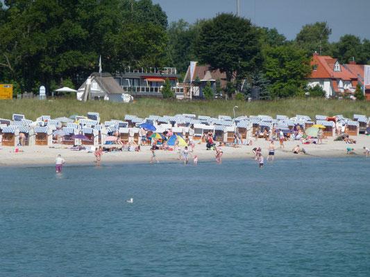 Herrliche Abkühlung in der Ostsee an heißen Sommertagen