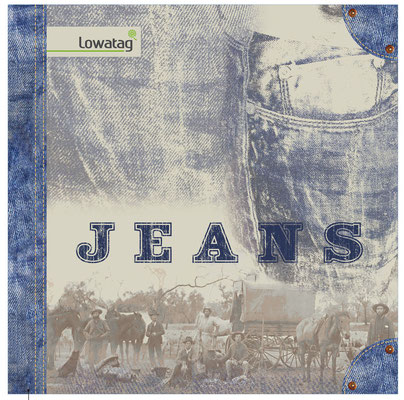 COVER CATALOG COLLECTION JEANS LOWATAG