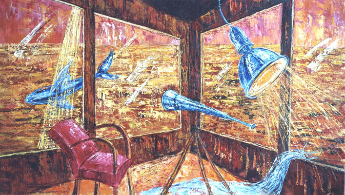 True or not..., 140-80 cm, oil on canvas