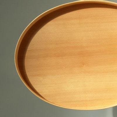 ovales Tablett/ Einzelstück