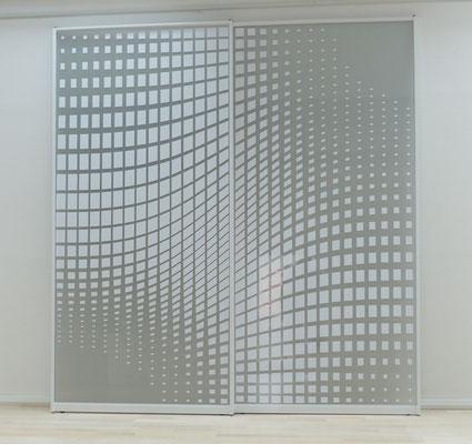 Raumteiler mit individuellem Muster