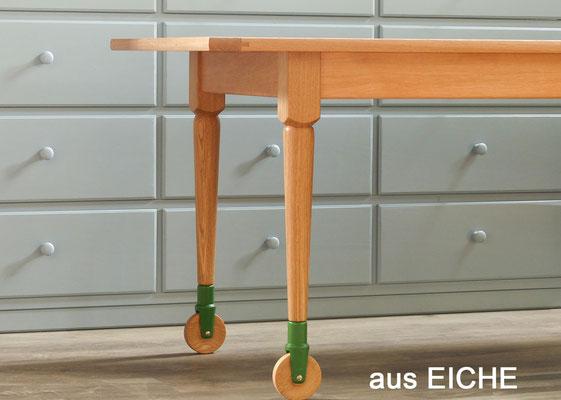 Massivholztisch, Eichetisch, Esstisch Holz
