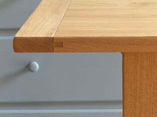 Eichetisch, Esstisch Holz, Massivholztisch