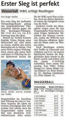 17.01.15 WBG Villingen/Schwenningen vs SSG Reutlingen/Tübingen