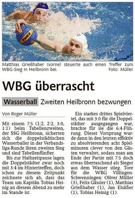 24.01.15 SSG Heilbronn vs WBG Villingen/Schwenningen