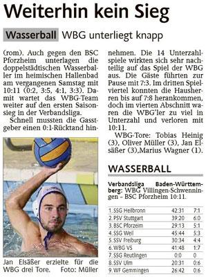 10.01.15 WBG Villingen/Schwenningen vs 1. BSC Pforzheim II