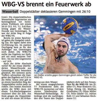 31.01.15 WBG Villingen/Schwenningen vs Wf Gemmingen