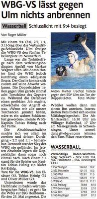 18.04.15 WBG Villingen/Schwenningen vs SSV Ulm