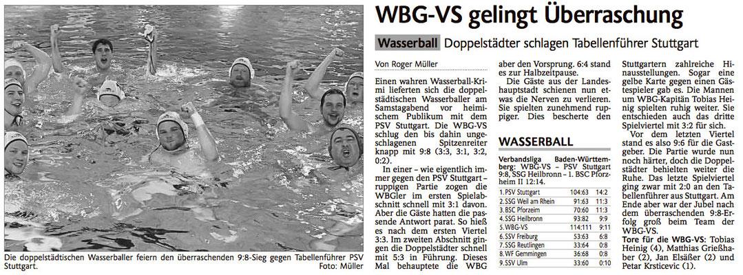 14.03.15 WBG Villingen/Schwenningen vs PSV Stuttgart