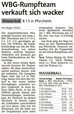 07.03.15 1. BSC Pforzheim II vs WBG Villingen/Schwenningen