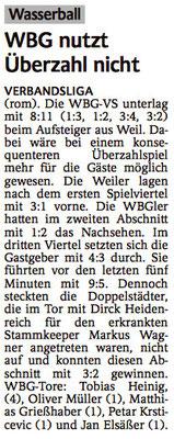 25.04.15 SSG Weil am Rhein vs WBG Villingen/Schwenningen