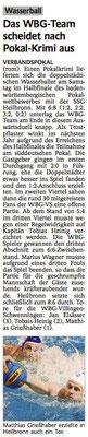 26.05.15 SSG Heilbronn vs WBG Villingen/Schwenningen (POKAL)