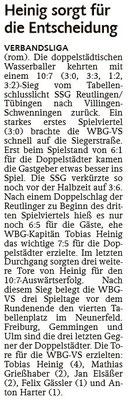 08.05.15 SSG Reutlingen/Tübingen vs WBG Villingen/Schwenningen