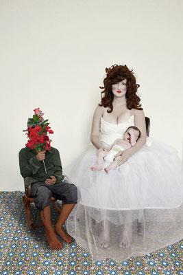 Madonna mit Kind III, 30x40cm, 2011