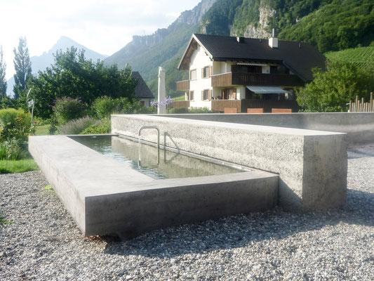 Betonbrunnen, Fläsch