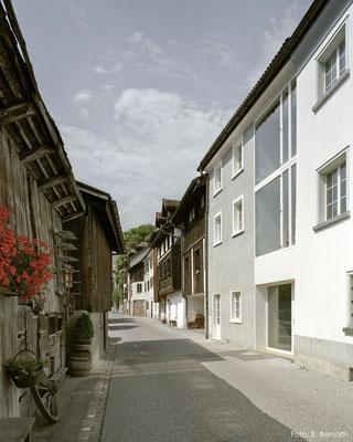 Kalk-/Zementputz, Maienfeld