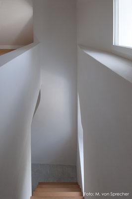 Treppenaufgang, Fläsch