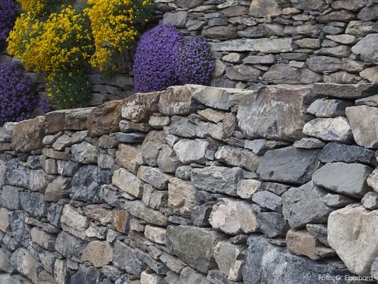 Hauszufahrt aus Natursteinen, Haldenstein