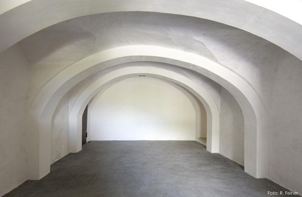 Stabilisiertes und saniertes Gewölbe, Malans