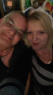 Die Yve und der Hajo im Irish Pub Berlin Charlottenburg