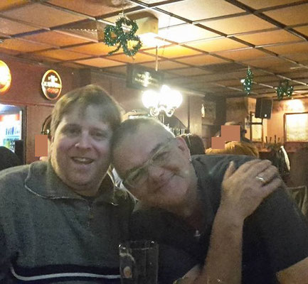 Im Irish Pub Berlin Charlottenburg Hajo und Carsten
